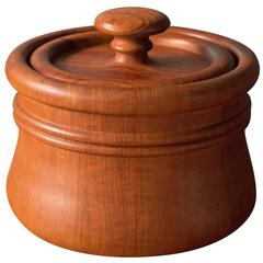 Danish Teak Ice Bucket by Nissen
