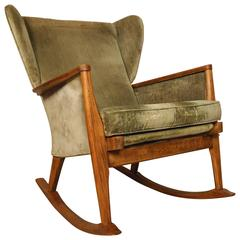 Parker Knoll Wingback Rocking Chair