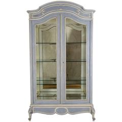 French 19th Century Louis XV-Style Display Cabinet