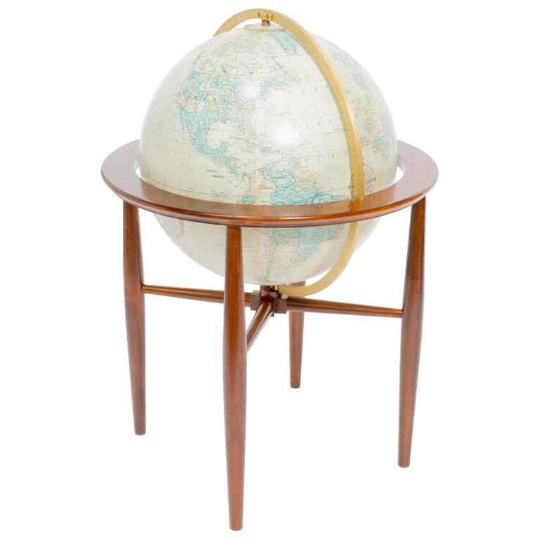Replogle Illuminated Globe on Stand