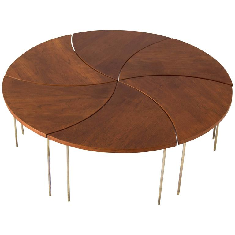 Modular Coffee Table by Peter Hvidt and Orla Mlgaard-Nielsen 1