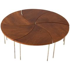 Modular Coffee Table by Peter Hvidt and Orla Mølgaard-Nielsen