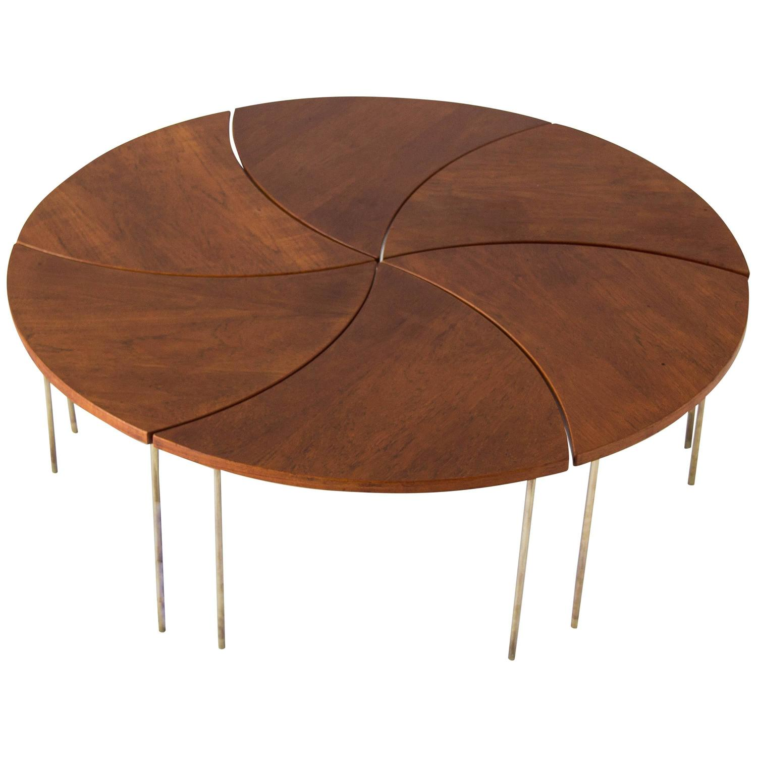 Modular Coffee Table by Peter Hvidt and Orla M¸lgaard Nielsen at