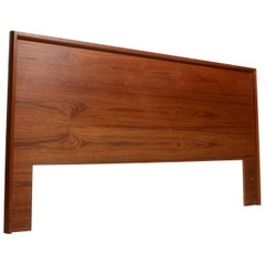 Scandinavian Modern California King Headboard in Teak