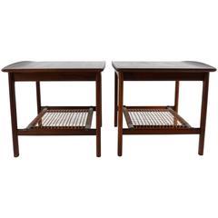 Folke Ohlsson for DUX Pair of End Tables, Sweden,1960s