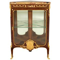 Fine Ormolu-Mounted Kingwood Corner Cabinet by François Linke