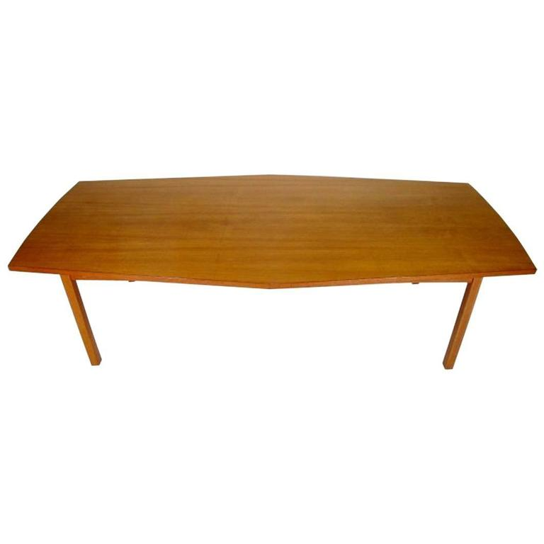 Danish Conference Table or Dining Table from the 1960s Made in Teak