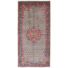 Vintage Persian Gallery Camel Hair Hamadan Rug