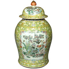 Covered Chinese Jar