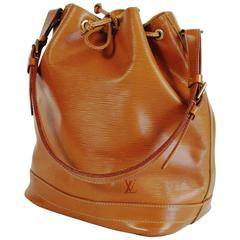Vintage Louis Vuitton Grand Noe Bag, Epi Leather, Natural Leather Color
