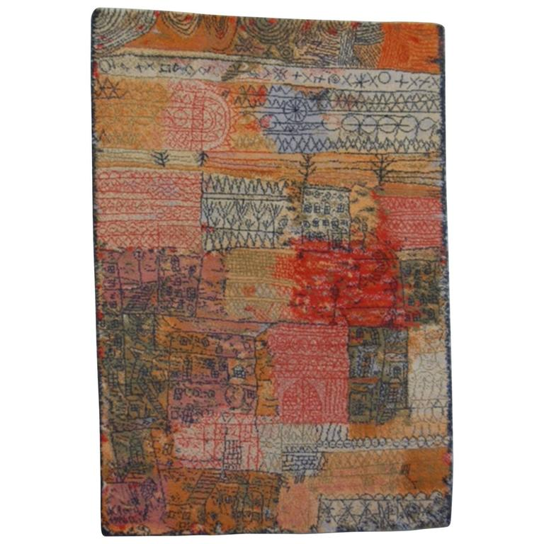 After Paul Klee Rug By Ege Axminster A S Denmark At 1stdibs