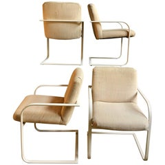 Milo Baughman Cantilever Dining Chairs for Thayer Coggin