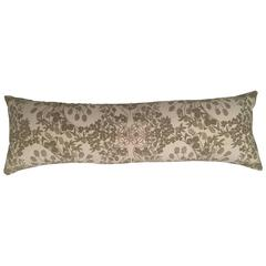 Folly Cove Designers Hand Block Printed Clover Pillow
