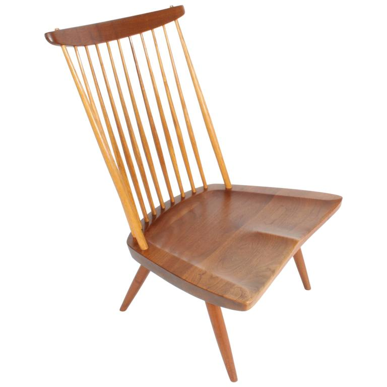 George Nakashima New Lounge Chair, Studio Crafted for Architect Phillip Cotton 1