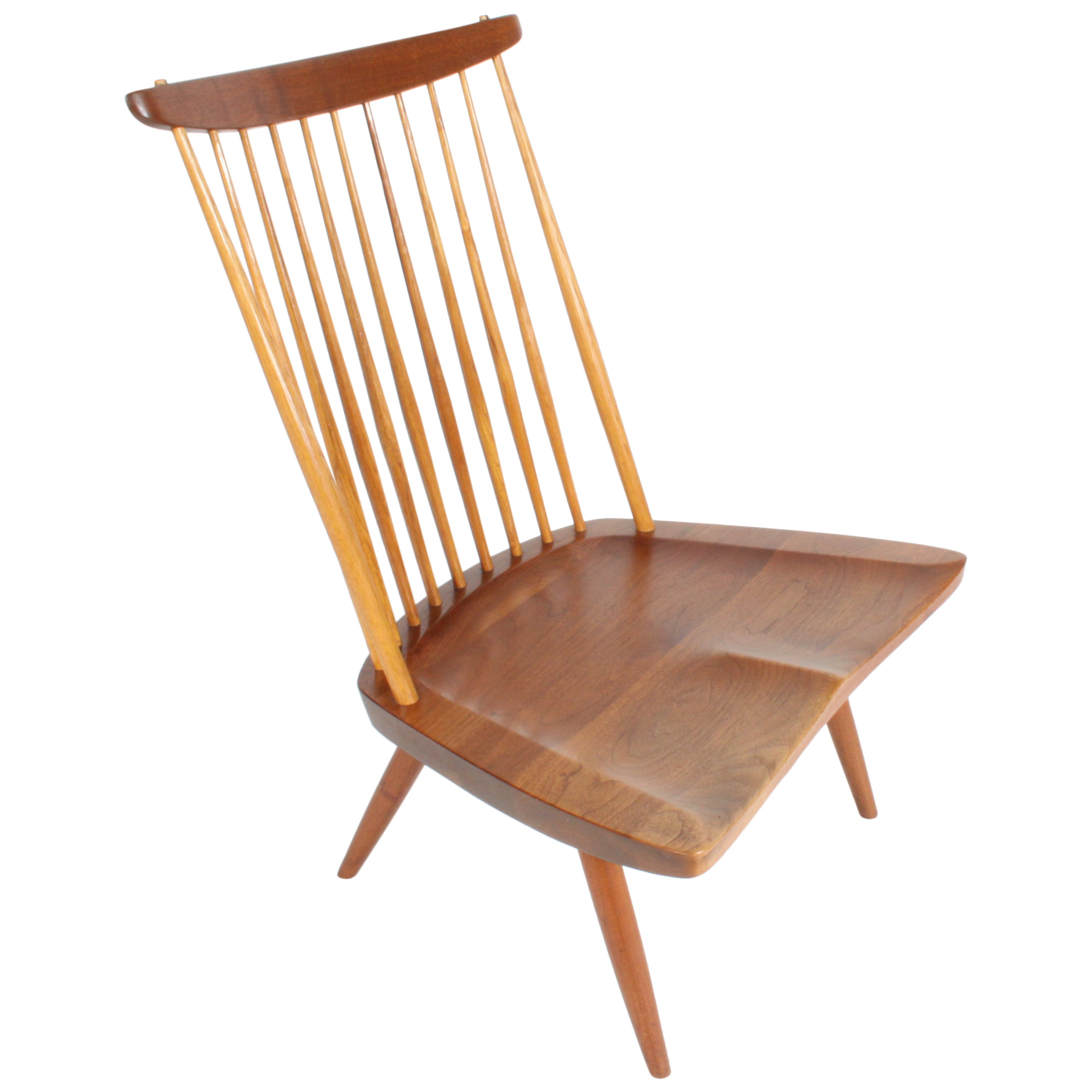 George Nakashima New Lounge Chair Studio Crafted for Architect Phillip Cotton For Sale at 1stdibs  sc 1 st  1stDibs & George Nakashima New Lounge Chair Studio Crafted for Architect ...