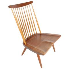 George Nakashima New Lounge Chair, Studio Crafted for Architect Phillip Cotton