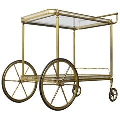 Bar Cart, Trolley or Serving Table by Maison Bagues - Maison Jansen