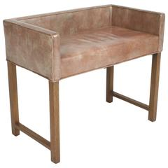 Edward Wormley for Dunbar Vanity Stool or Bench