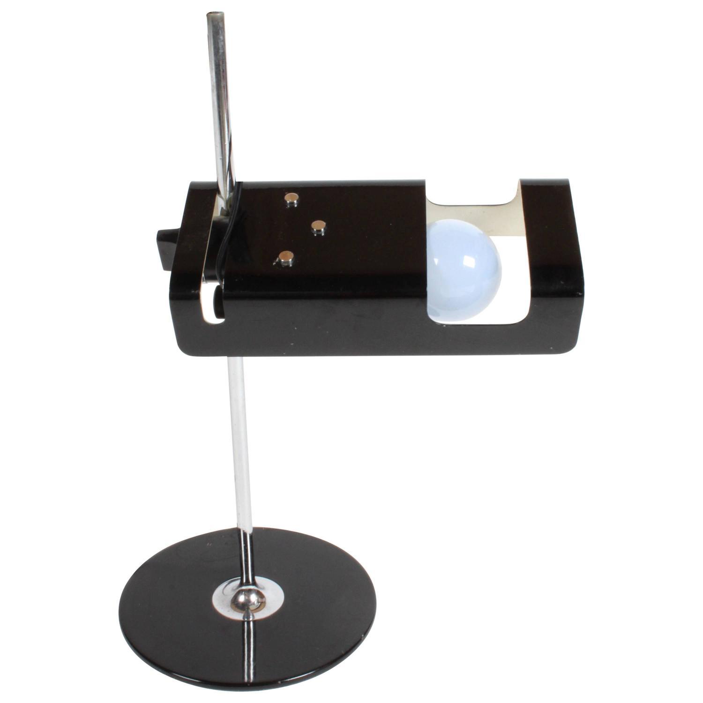 joe colombo spider 291 desk lamp for o luce for sale at 1stdibs. Black Bedroom Furniture Sets. Home Design Ideas