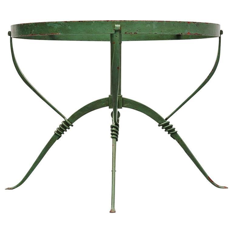 Merveilleux Raymond Subes Maison Dominique Art Deco Table, France, 1930 For Sale