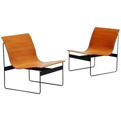 Günter Renkel Lounge Chairs for Rego, Germany, 1959