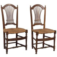 Pair of 19th Century French Country Chairs