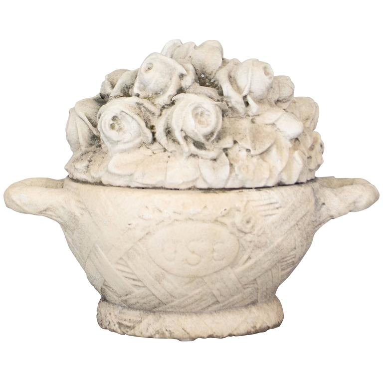 French Marble Garden Ornament