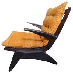 Super Rare Wim Van Gelderen for Spectrum 1950s Lounge Chair