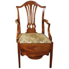 English Commode Chair