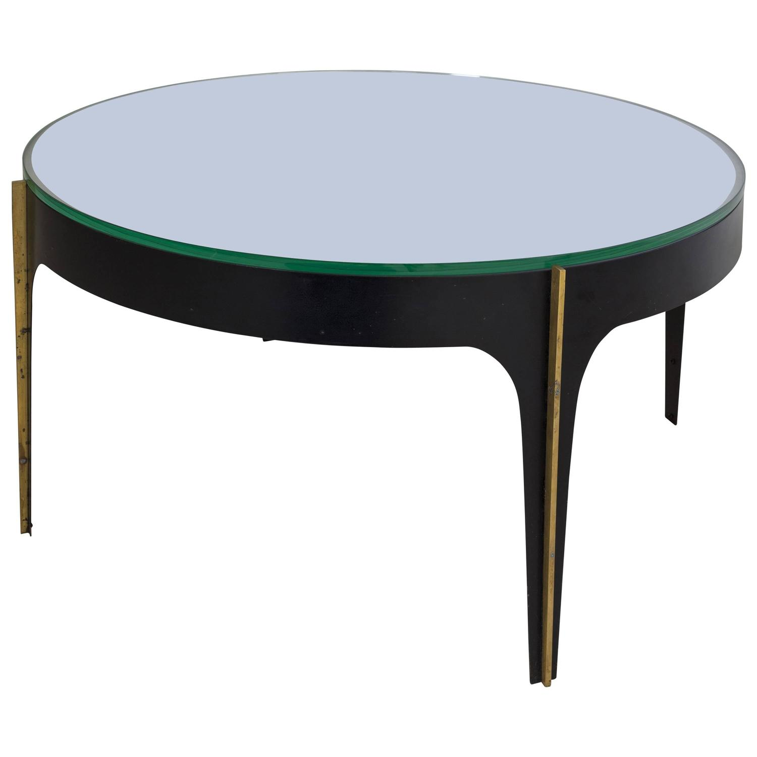 Max Ingrand Coffee Table 1774 Model Manufactured by Fontana Arte