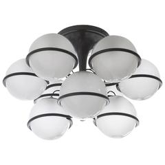 "Gino Sarfatti, Ceiling Lamp, ""2042/9"" Model, Manufactured by Arteluce, 1963"