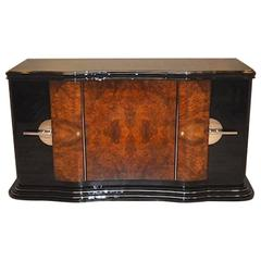 Curved Credenza from the Art Deco Era