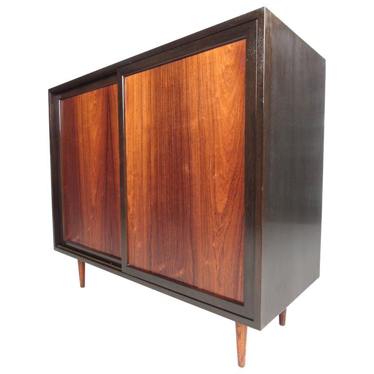Mid Century Modern Harvey Probber Storage Cabinet For Sale