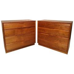 Elegant Set of Mid-Century Modern Dressers