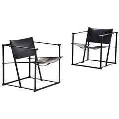Pastoe Fm61 Cubic Chairs Radboud Van Beekum, 1980