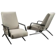 Pair of Recliners by Gianni Moscatelli for Formanova, Italy, 1960s