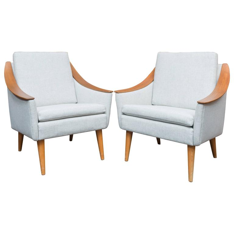 Danish Modern Lounge Chairs For Sale At 1stdibs