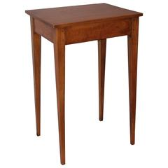 19th Century Shaker Style Side Table/Nightstand