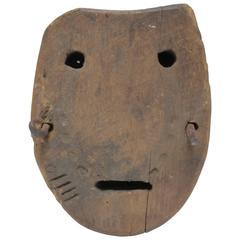 Wood Horse Bog Shoe Mask Image
