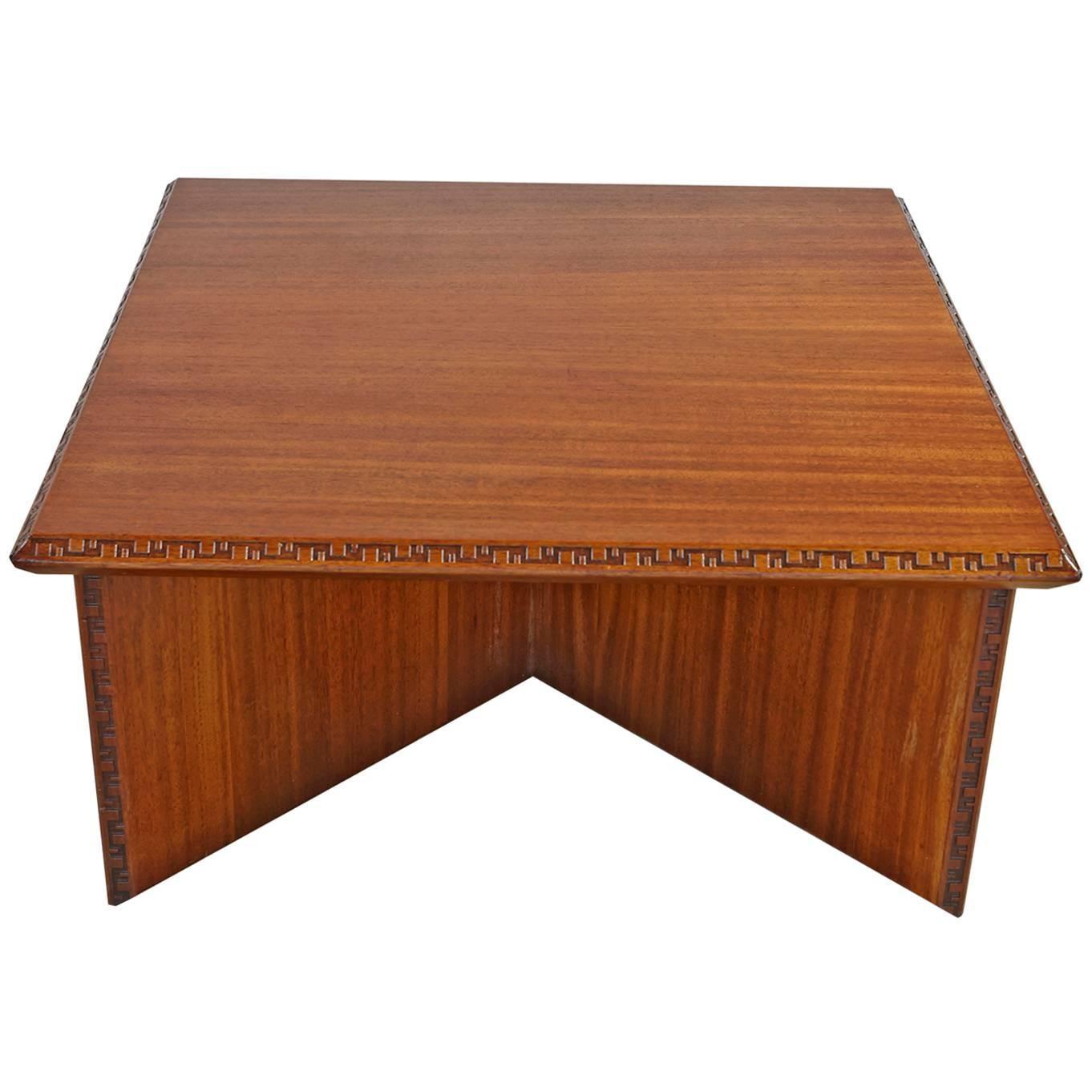 Frank Loyd Wright Coffee Table for Heritage Henredon
