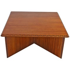 Frank Loyd Wright Coffee Table for Heritage Henredon