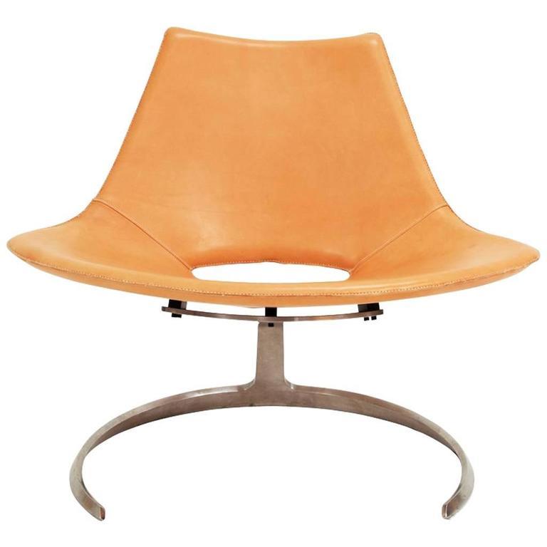 Scimitar Chair by Preben Fabricius & Jørgen Kastholm
