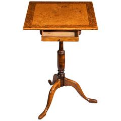 George III Period Mahogany Small Side Table