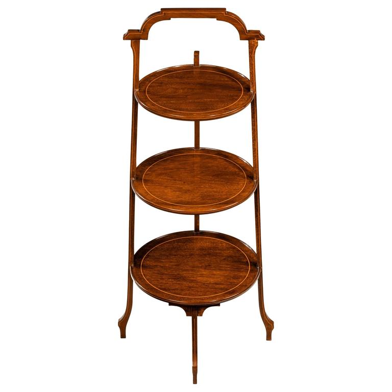 Late 19th Century Three Tier Cake Stand For Sale At 1stdibs