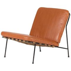 Leather Lounge Chair by Alf Svensson
