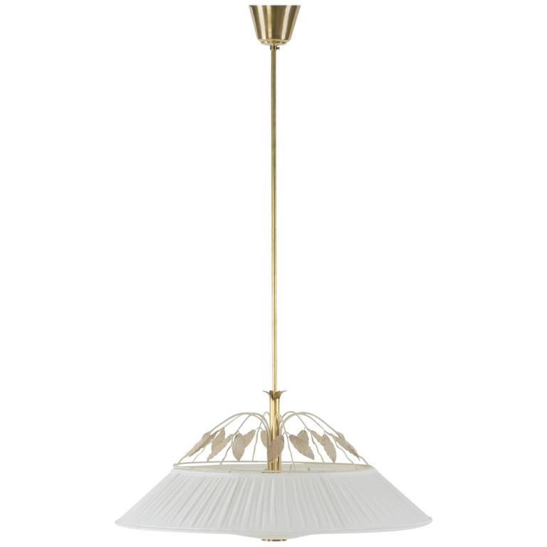 Lacquered Metal Ceiling Lamp by Hans Bergström