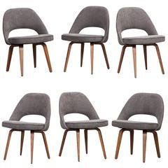 Set of Six Eero Saarinen Side Chairs