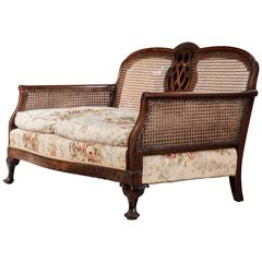 Early 20th Century Mahogany Framed Bergere Sofa