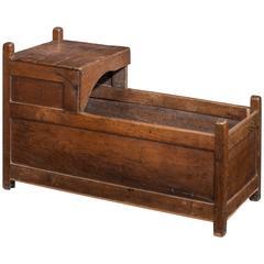 Mid-18th Century Oak Crib