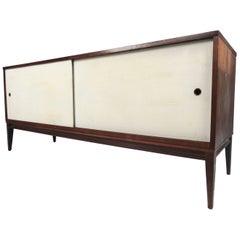 Paul McCobb Sliding Door Cabinet